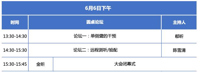 2021北京国际听力学大会与您相逢在六月——大会日程奇怪出炉